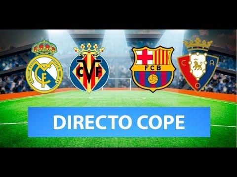 (SOLO AUDIO) Directo del Real Madrid 2-1 Villarreal en Tiempo de Juego COPE