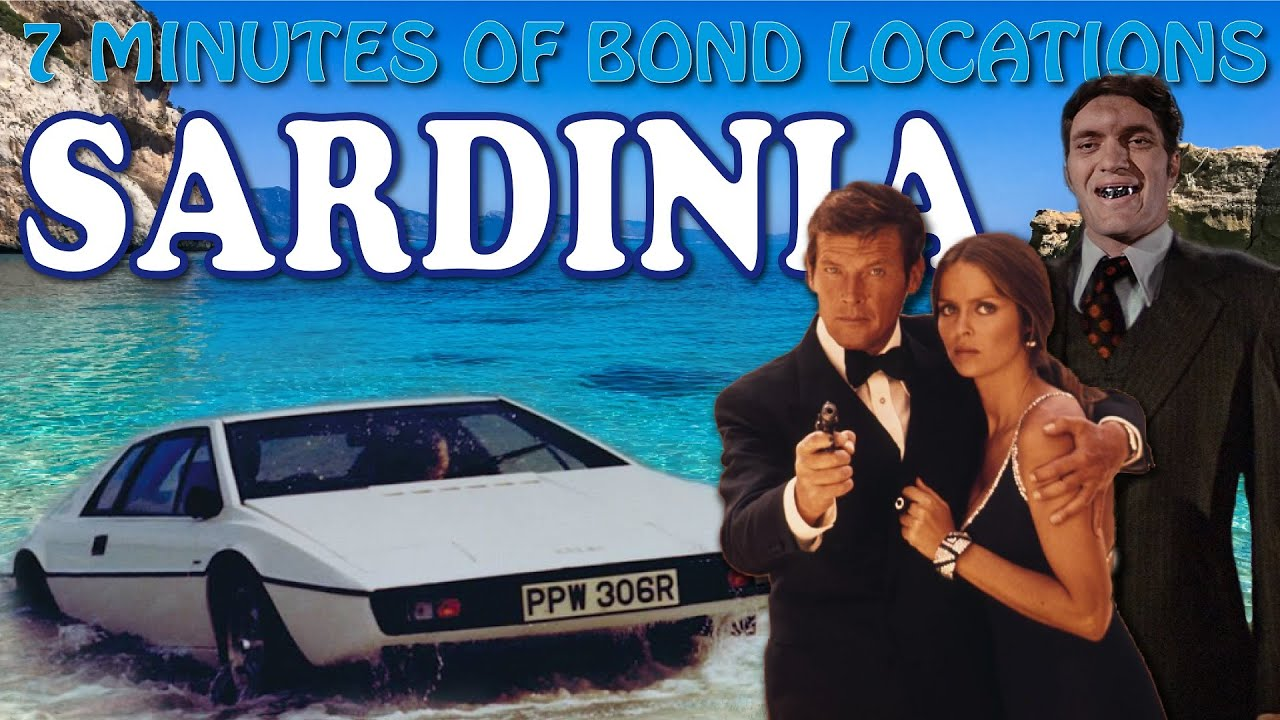 Download JAMES BOND IN SARDINIA   The Spy Who Loved Me   filming locations then*now
