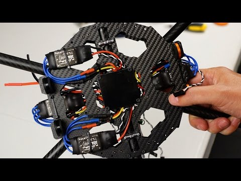 Hexacopter Build Part 6 - Solder ESCs to PDB and Mount on Tarot FY690S