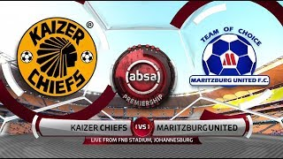 Absa Premiership 2018/19 | Kaizer Chiefs vs Maritzburg United
