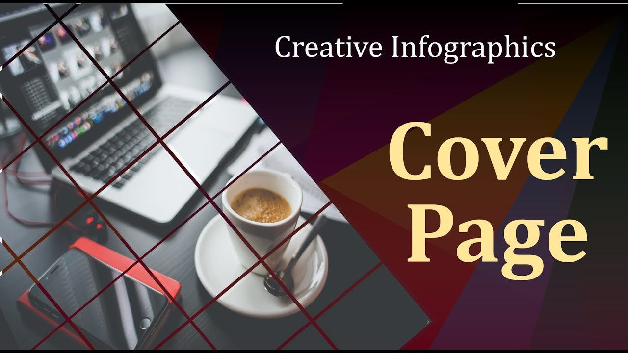 powerpoint infographics presentation tutorial for attractive cover
