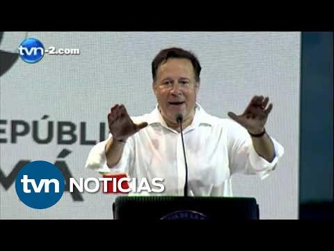Discurso Juan Carlos Varela - Colón