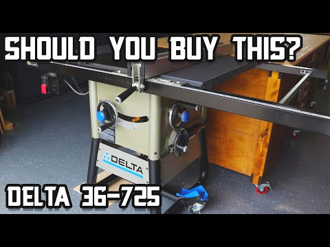 In the Market for a Table Saw? Delta 36-725 Table Saw Review