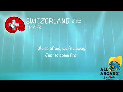 Zibbz - Stones (Switzerland) [Karaoke Version]