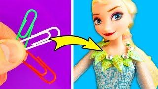 DIY Miniature Necklaces for Frozen Princess Elsa Doll