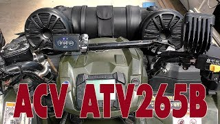 аКТИВНАЯ ВЛАГОСТОЙКАЯ АКУСТИЧЕСКАЯ СИСТЕМА ACV ATV265B, распаковка, обзор, прослушивание, отзыв