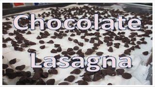 No Bake Chocolate Lasagna Recipe