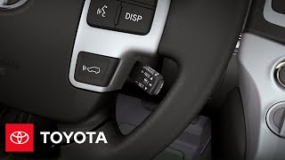2013 Land Cruiser How-To: Dynamic Radar Cruise Control | Toyota