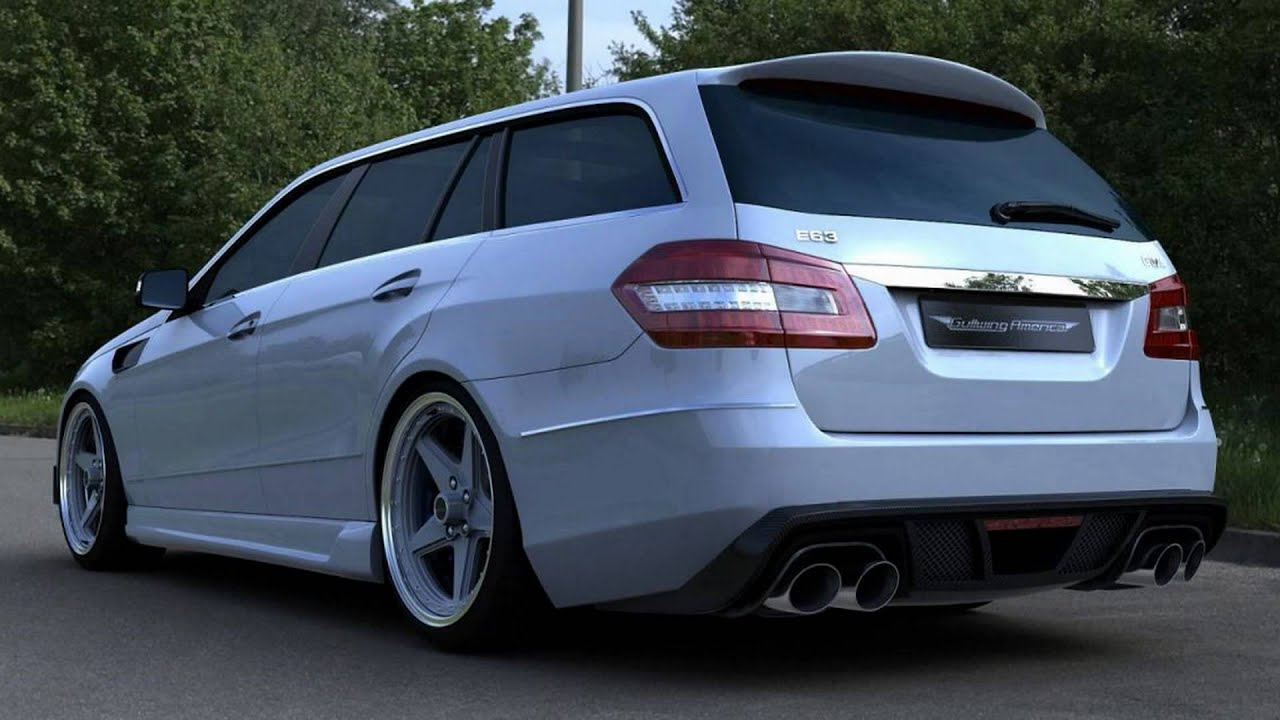 2011 Gwa Tuning Mercedes Benz E63 Amg Wagon Youtube