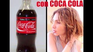 Cabello Abundante con COCA COLA / COCA COLA Hair Rinse