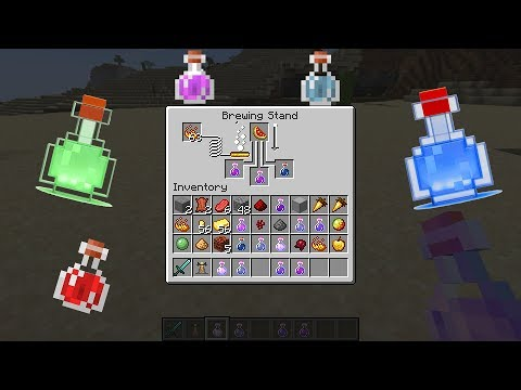 Minecraft: How To Make Potions - (Minecraft Potions)