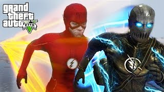 FLASH VS ZOOM !!! GTA 5 MODS