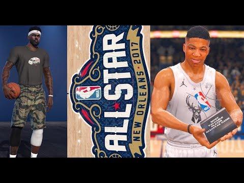 NBA LIVE 18 THE ONE - NBA ALL STAR GAME!