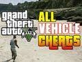 GTA 5 ALL CAR CHEAT CODES! (Vehicle Cheat Codes GTA V Xbox & PS3)
