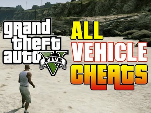 <b>GTA 5</b> ALL CAR <b>CHEAT CODES</b>! (<b>Vehicle Cheat Codes GTA</b> V Xbox &amp; PS3 ...