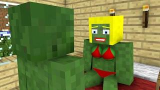 Zombies Hot Date Season 1 - ZippCraft Minecraft Animation