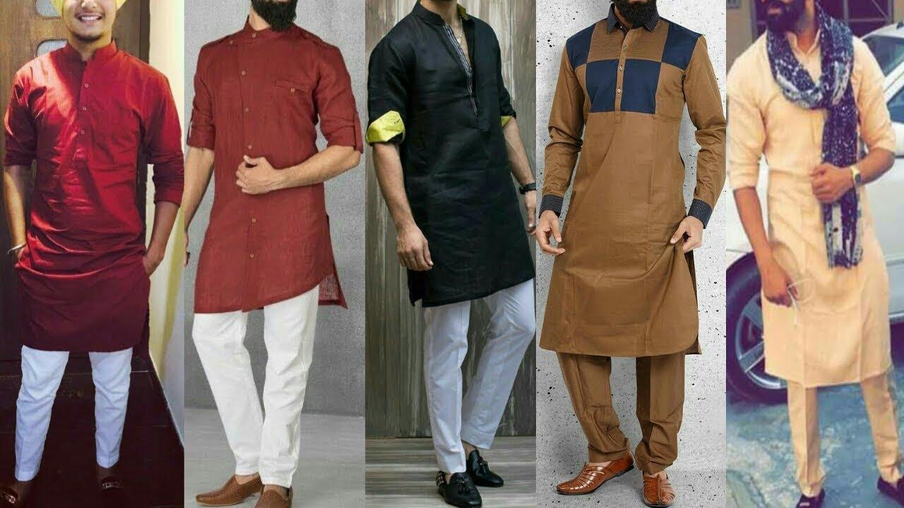 Punjabi Modern Kurta Pajama Styles || Pakistani Styles ...