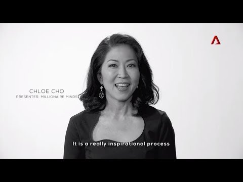 Chloe Cho, Presenter, Millionaire Minds on Channel NewsAsia