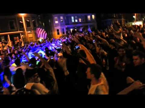 Celebration with Bostons Finest
