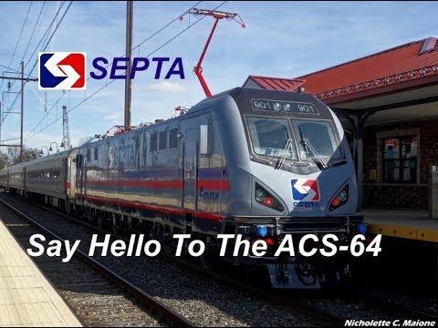 Meet The SEPTA Siemens ACS-64