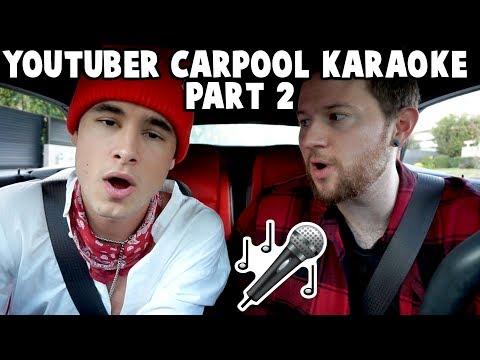 Carpool Karaoke BONUS FOOTAGE (Kian, Gabbie, Trevor, Miranda, James + MORE)