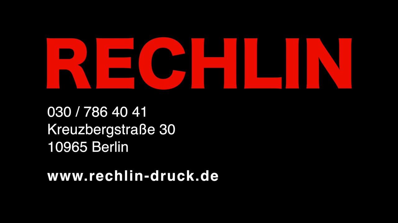 Druckerei Rechlin In Berlin Kreuzberg