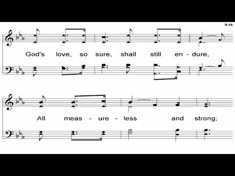The Love Of God (Lehman) - A Cappella Hymn