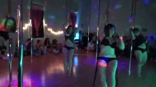 Impulse Pole Dance Showcase - Pole Ballet group performance
