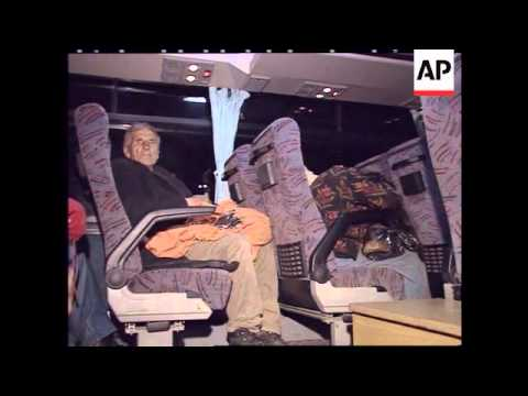 TURKEY: ARRIVAL OF KOSOVO REFUGEES