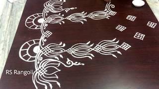 Latest unique Radham muggulu for sankranthi special || Dhanurmasam special muggulu