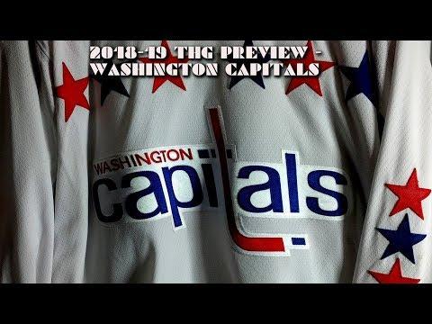 2018-19 Washington Capitals Season Preview