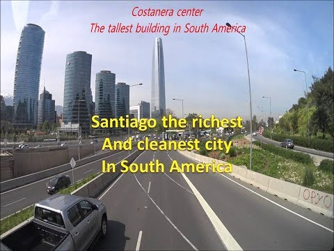 Santiago the richest and cleanest city in South America