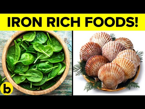 11 Foods That Are High In Iron & Why Iron Is Important