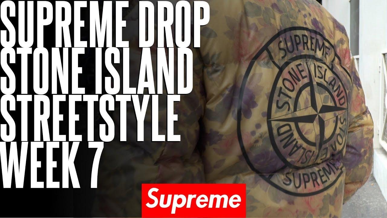 Supreme X Stone Island Ss17 Votez Pour Le Meilleur Streestyle