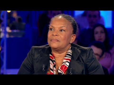 Christiane Taubira - On n'est pas couché 21 février 2015 #ONPC