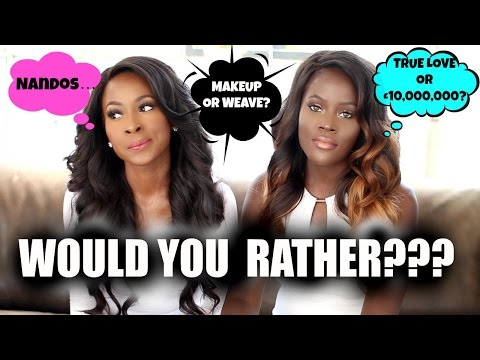 WOULD YOU RATHER... NO MAKEUP OR NO WEAVE ? WITH BREENY LEE| Q&A
