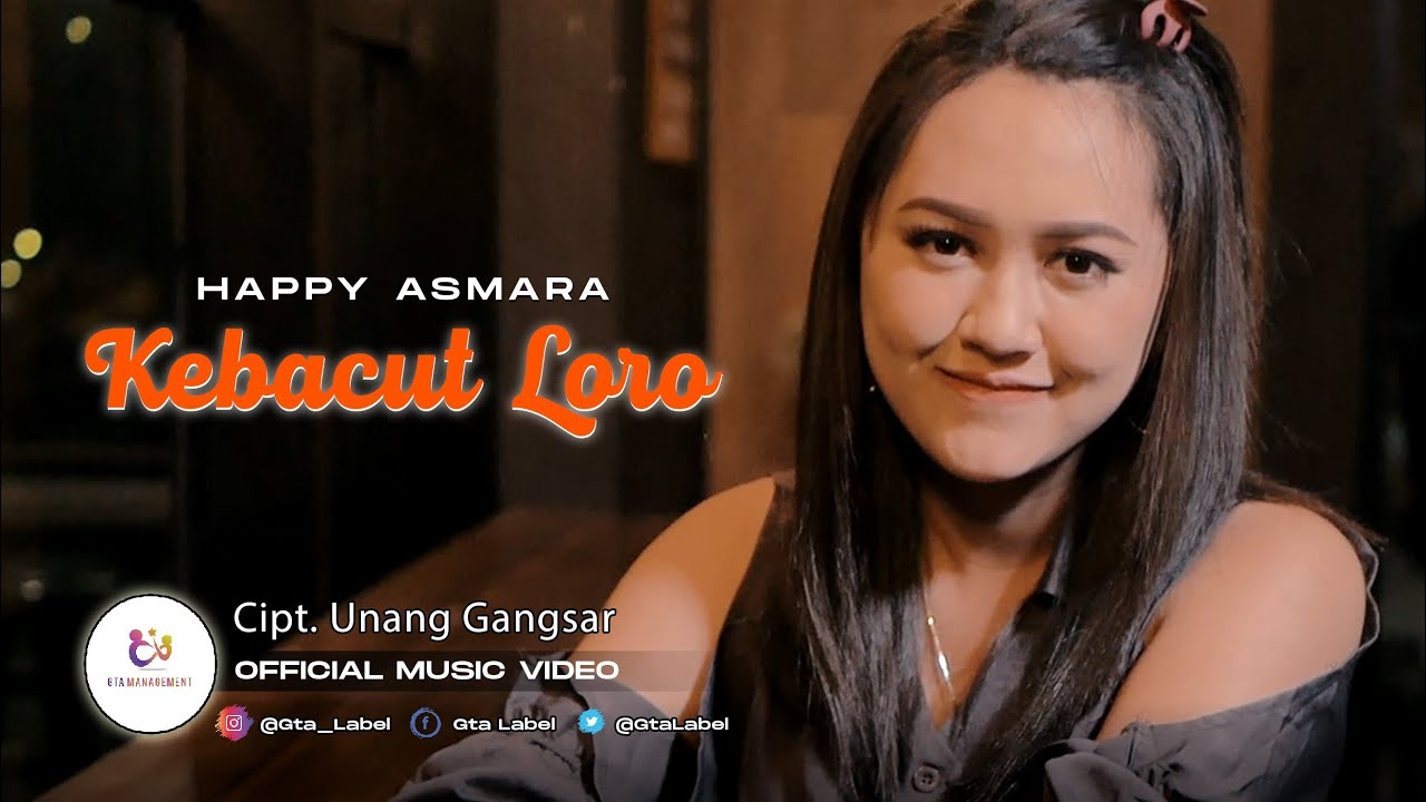 Happy Asmara - Kebacut Loro (Official Music Video)