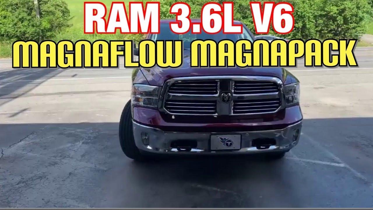 2017 ram 3 6l v6 exhaust w magnaflow magnapack