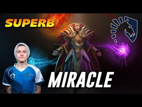 Miracle Superb Invoker | Dota 2 Pro Gameplay thumbnail
