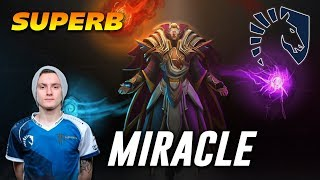 Miracle Superb Invoker | Dota 2 Pro Gameplay