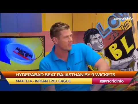 Sunrisers Hyderabad vs Rajhastan Royals IPL 2018 Match 4   Post Match Analysis