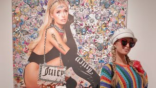 Paris Hilton's Art at Onch's Sweet 16 Art Show