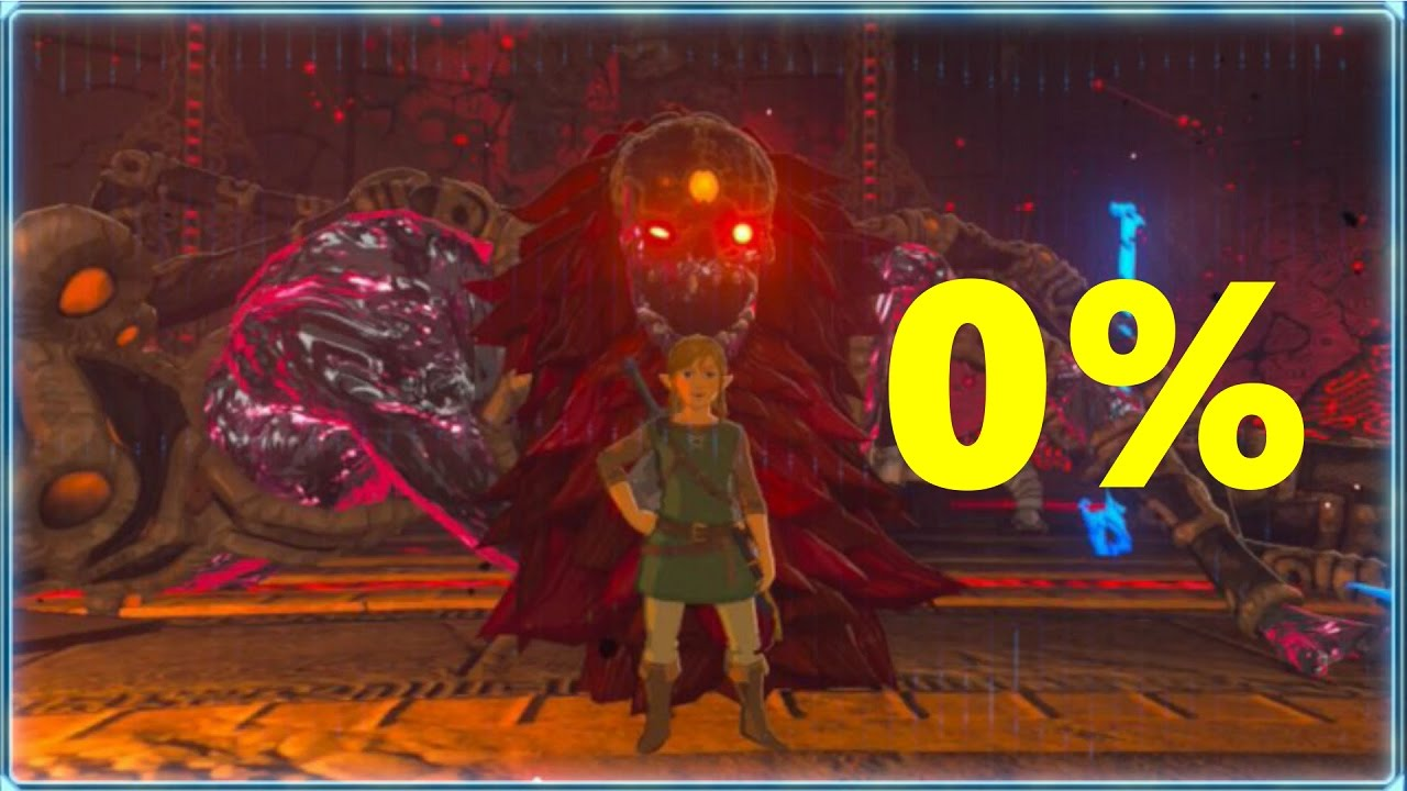 Breath Of The Wild Dark Link >> Zelda: Breath of the Wild - Perfect Final Boss Run | No Damage + True Ending - YouTube