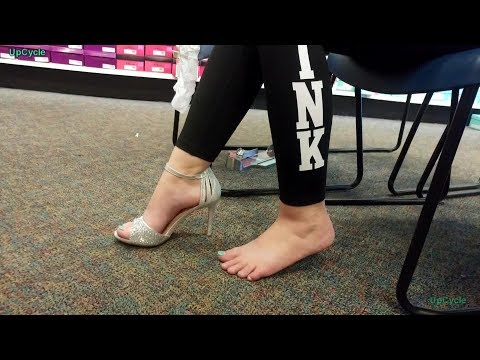 Shoe shopping with Nikki, Shoe Show, high heels and flats