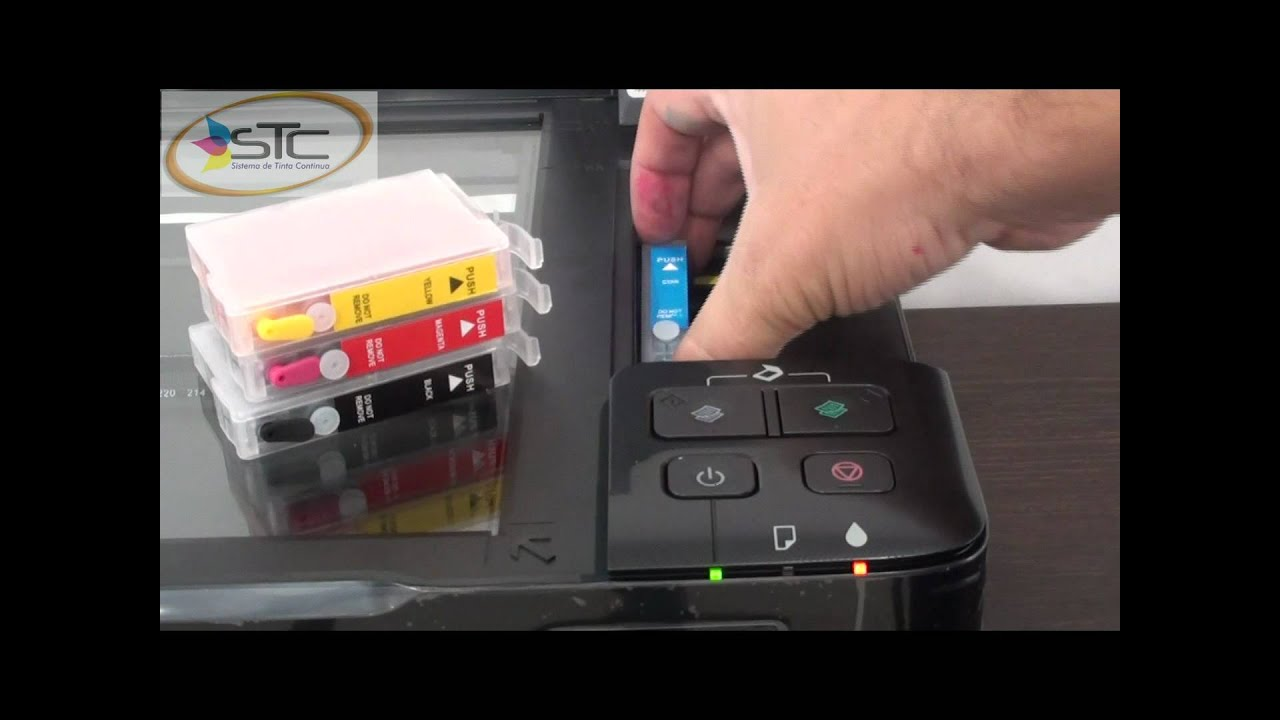 cartuchos recargables epson t25 tx125 tx135 chip 135 stc youtube rh youtube com manual tecnico impresora epson tx125 manual da impressora epson tx125