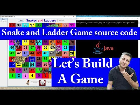 How To Build A Game|Snake And Ladder Game Source Code