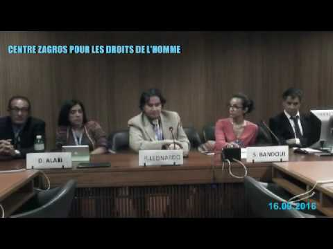 Side-Event : Minority Rights in Iran - 16/09/2016 - Part 1/4