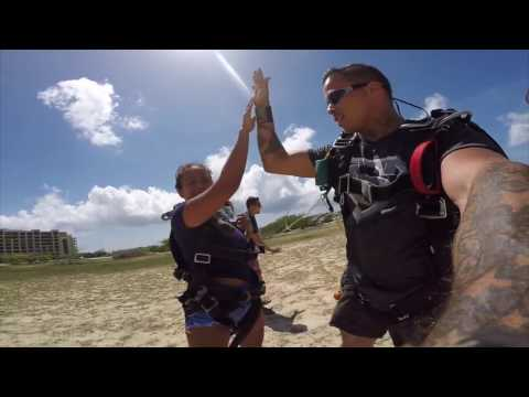 Hello Skydive in Aruba!!
