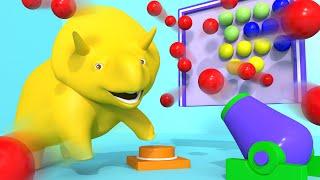 泡泡射擊游戲 ???? 幼兒教育卡通 The Bubble Shooter Game Educational Cartoon for Children