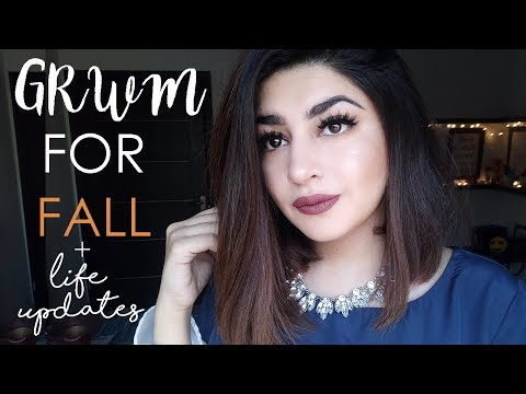 GRWM: Fall Make-up | Easiest Everyday Smokey Eyes | DYOT Clothing | Glossips